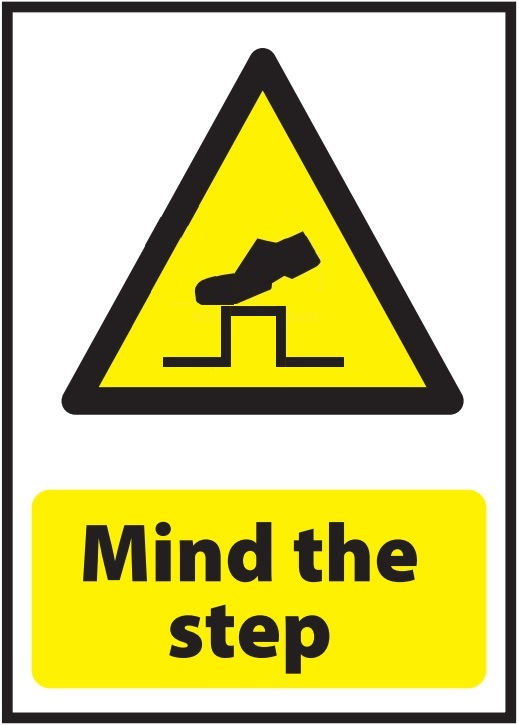 Mind the Step Sign version2