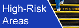 high risk areas icon