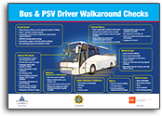 Bus checks poster