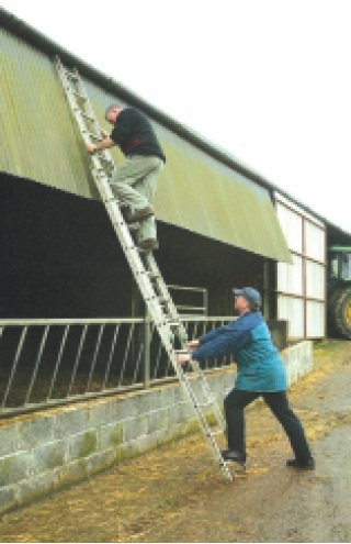 Image result for Increase in falls from height on farms warning