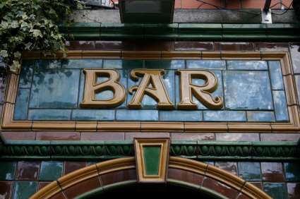 Entrance to a Bar