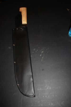 Knife in Scabbard