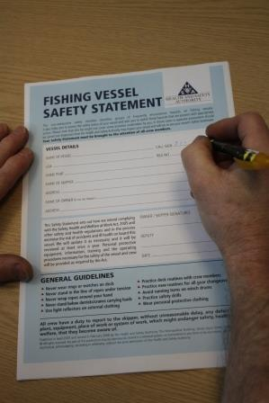 Fishing Vessel Safety Statement